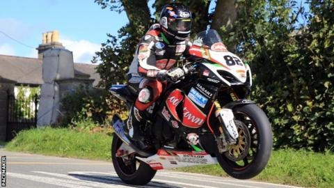 Derek Sheils will ride Superbike and Superstock Suzukis for the Burrows team
