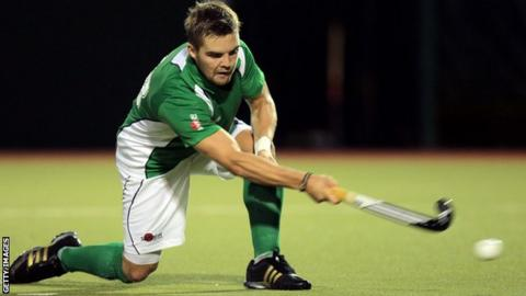 Alan Sothern scored a hat-trick for Ireland against China in Antwerp