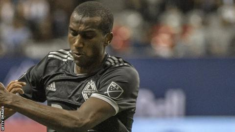 Ali Ghazal in action for Vancouver Whitecaps