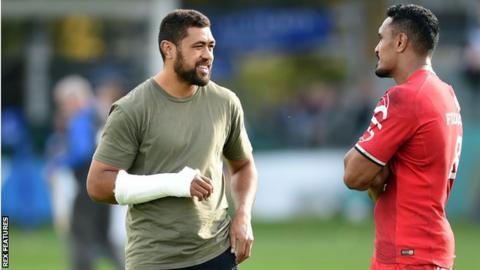 Taulupe Faletau broke his arm twice last season