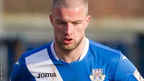 Eastleigh midfielder Luke Coulson