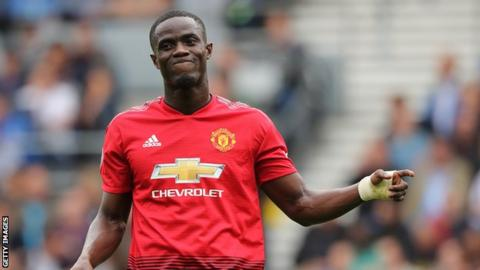 Manchester United and Ivory Coast defender Eric Bailly