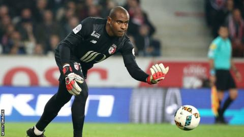 Former Nigeria keeper and captain Vincent Enyeama