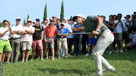 Slattery leads Molinari and Olesen at Italian Open | AP sports