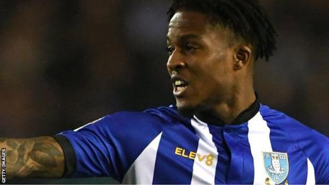 Rolando Aarons in action for Sheffield Wednesday