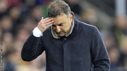 Carlos Carvalhal set to leave Swansea at end of season