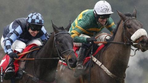 Richard Johnson and AP McCoy