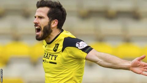 Livingston striker Liam Buchanan