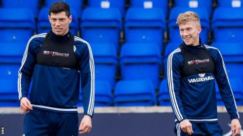 Scott McKenna and Ross McCrorie