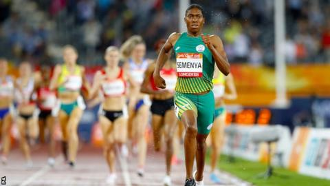 South Africa athlete Caster Semenya