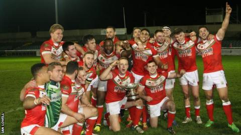 Wales celebrate after clinching the European Championship title in Bray