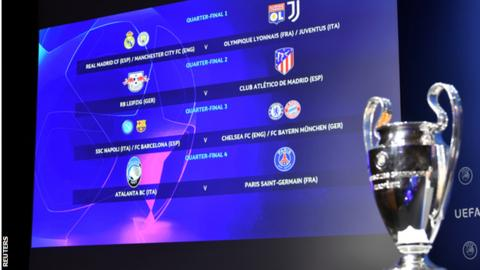 Your TV guide to this weekend's Champions League fixtures