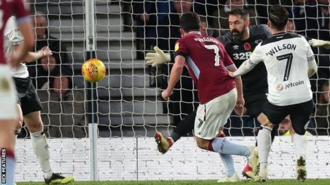 John McGinn scores for Aston Villa