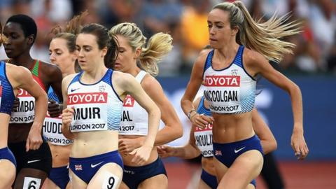 Laura Muir and Eilish McColgan