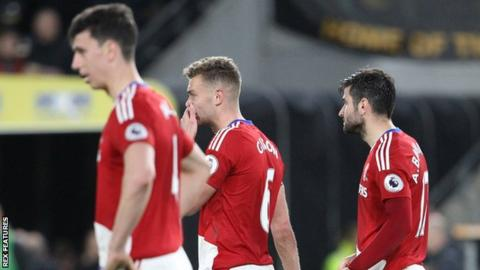 Middlesbrough players