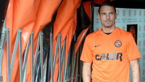 Dundee Utd's new signing Rodney Sneijder