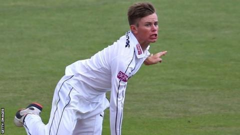 Hampshire spinner Mason Crane