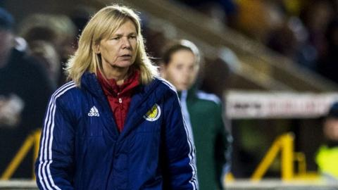 Scotland manager Anna Signeul made major changes from the victory over New Zealand