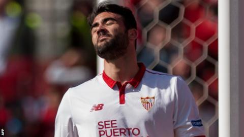 Sevilla's Vicente Iborra