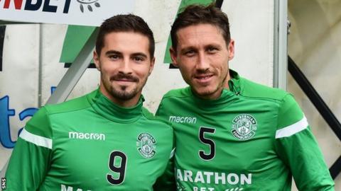 Jamie Maclaren and Mark Milligan