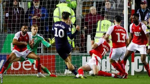 Jack Grealish's second-half strike for Villa at Rotherham was his first goal since hitting the winner in the Second City Derby at St Andrew's
