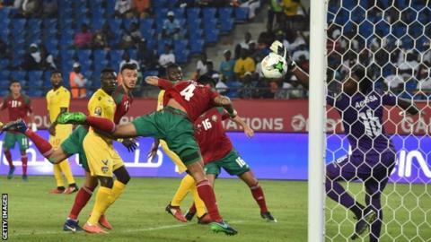 Morocco team celebrates