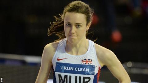 Laura Muir: Scottish athlete says graduating will help performance