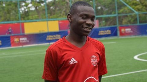 Zambian footballer Abel Kanyamuna
