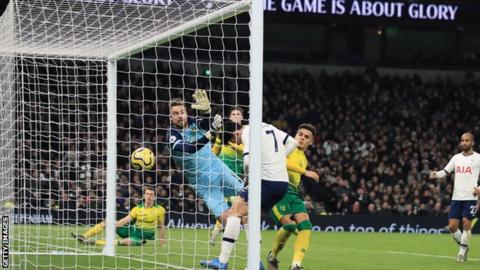 Spurs voice first league web in 2020 against backside aspect Norwich thumbnail