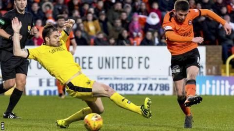 Sam Stanton scores for Dundee United
