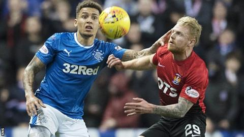 Rangers' David Bates 'out for at least six weeks' with ligament damage