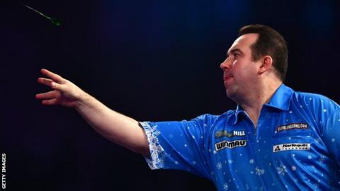 Brendan Dolan in action against Christian Kist on Tuesday night