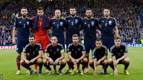 The Scotland team