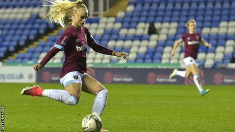 West Ham United women forward Alisha Lehmann