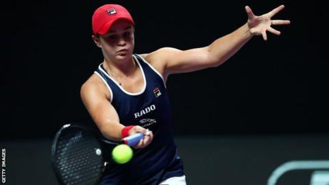 Ashleigh Barty is the world number one