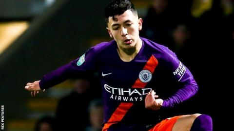 Ian Poveda: Leeds United sign Manchester City winger on four-and-a-half-year deal