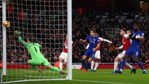 Lacazette scores for Arsenal