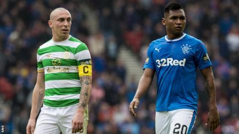 Scott Brown and Alfredo Morelos