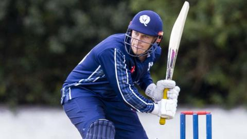 George Munsey hit 61 from 42 balls