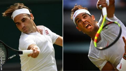 Roger Federer and Rafa Nadal are the men to beat at Wimbledon
