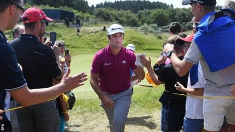 The Open 2017 Jon Rahm Plays Down Seve Ballesteros Comparisons Bbc Sport