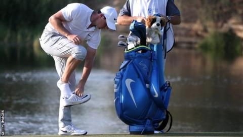 Rory McIlroy had his worst ever round at the DP World Tour Championship