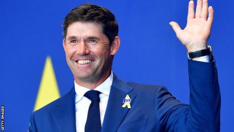 Padraig Harrington named Europe's 2020 Ryder Cup captain