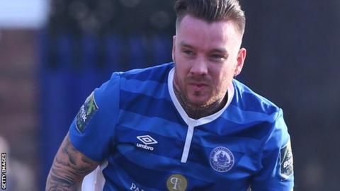 Jamie O'Hara in action for Billericay