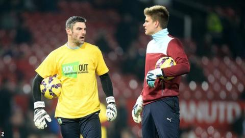 Sydney-born Nizic has Matt Gilks ahead of him for a place on the bench behind Tom Heaton at Burnley