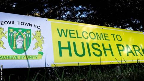 Yeovil Town sign
