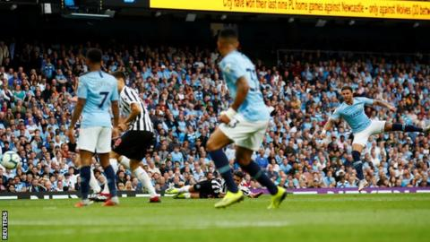 Resultado de imagen para Newcastle 2-1 Manchester City