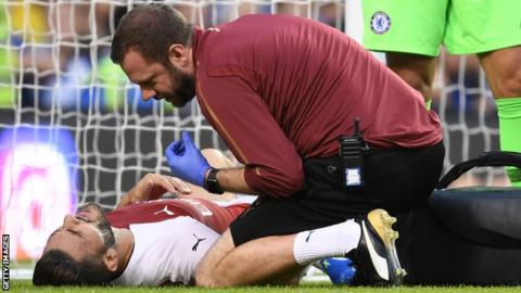 Sead Kolasinac delivers cruel injury blow to Arsenal on eve of season