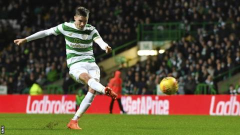 Celtic ease past Dons to go eight points clear
