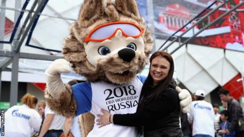 b7a562bb6ba Russia World Cup 2018  First tickets for finals go on sale - BBC Sport